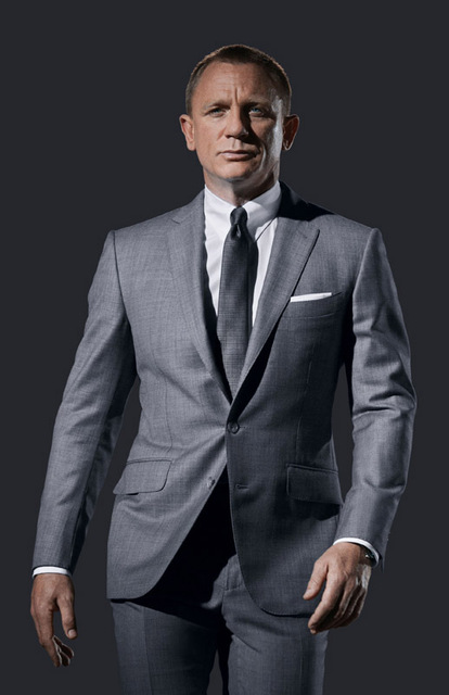 Lieblings James Bond 007 Spectre Daniel Craig anzug 24x35 PRITING POSTER &YQ_21