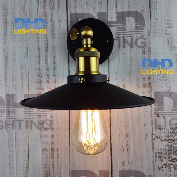 Free shipping Art lighting industrial E27 edison wall lamp vintage black iron finished cage lighting fitting for home decorationFree shipping Art lighting industrial E27 edison wall lamp vintage black iron finished cage lighting fitting for home decoration