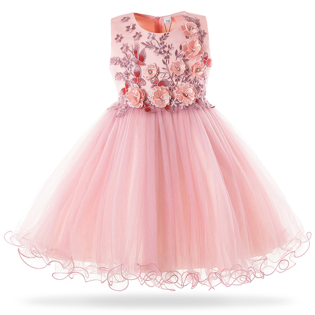 2671ea7ae9 Mottelee 2019 New Girls Mesh Princess Dress Wedding Birthday Party Dresses  For Girl Kids Formal Evening Ball Gown Frock 3 10Year