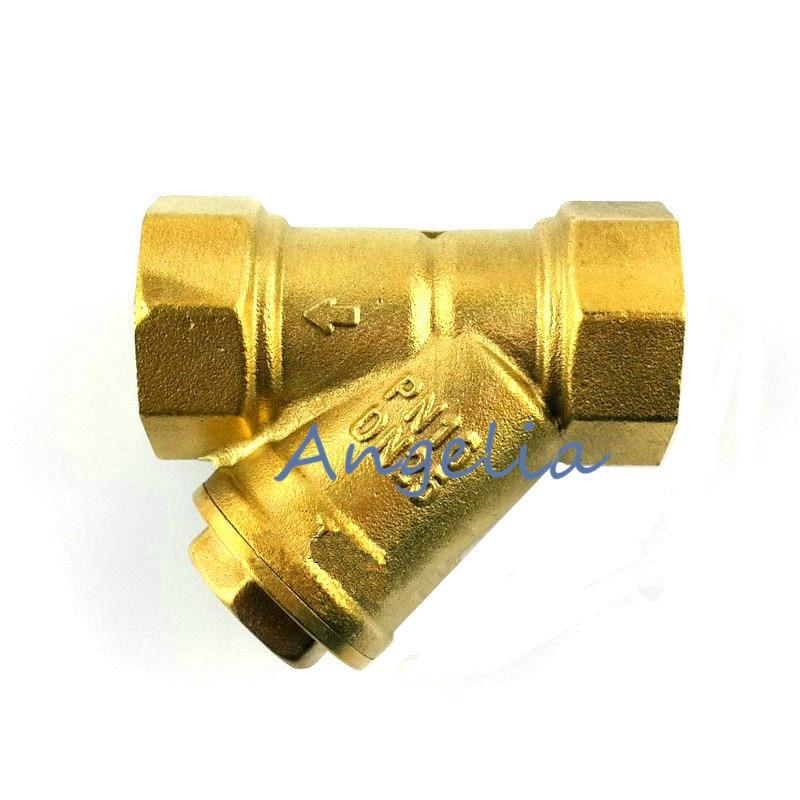 3 DN80 BSP Brass Mesh Strainer valve Inline Y Filter Female thread