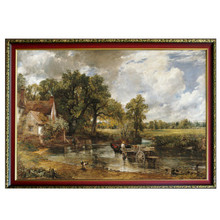 New Product 3D Paper Puzzle Old Master Famous Painting The Hay Way 1821 Jigsaw Puzzle 2000 Pieces