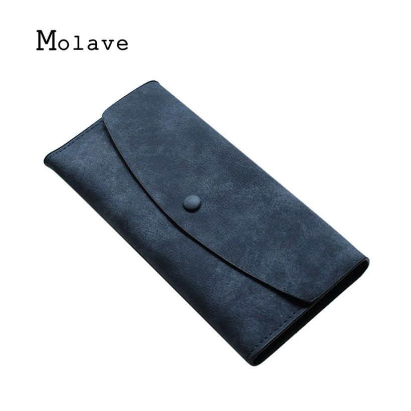 MOLAVE 2017 fashion Wallet geldborse Munze new fashion women purse Soft handbags card holder gift lady long wallet bag oct16 yuanyu free shipping 2017 hot new women bag real women clutches pearl fish skin wallet long fashion leisure women wallet purse