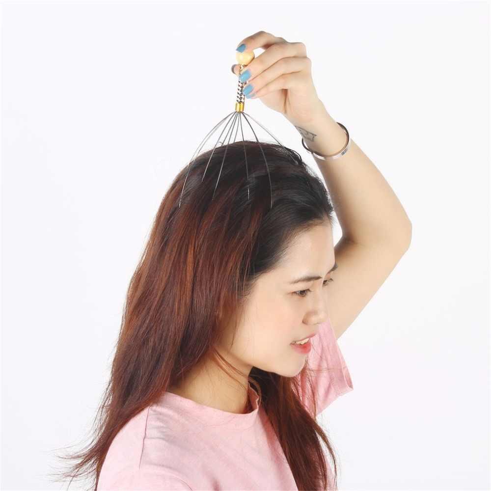 Multifuncional cabelo couro cabeludo massagem pente anti-stress corpo cabeça massageador aliviar o estresse pago liberação escova de cabelo cuidados com o cabelo