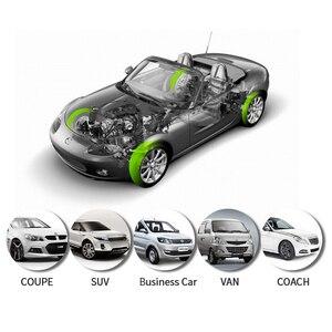 Image 5 - 車 tpms タイヤ空気圧監視システム太陽光発電充電車のタイヤ空気圧センサー lcd ディスプレイ自動セキュリティ警報システム