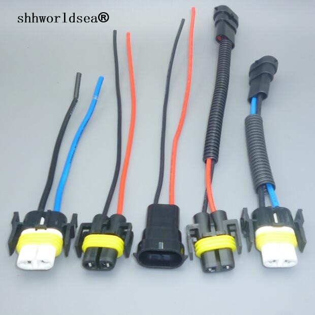 shhworldsea 1PCS H8 H9 H11 Wiring Harness Socket Car Wire Connector ...
