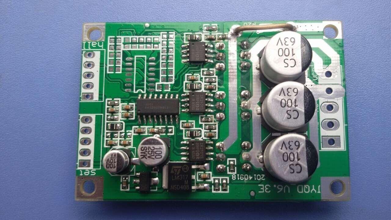 new  12V 24V 36V 500W Brushless Motor Controller Motor Balanced Car Driver Board