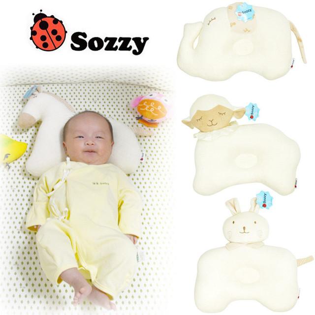 Animais Dos Desenhos Animados da criança Dormir Posicionador Sono do bebê Moldar Travesseiro Pescoço Proteção Cama cama Almofada coussin literie