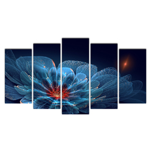 Modern Canvas Painting Frame Wall Art Print Modular Abstract Pictures Home Decor 5 Panel Flowers Movie Poster Cairnsi