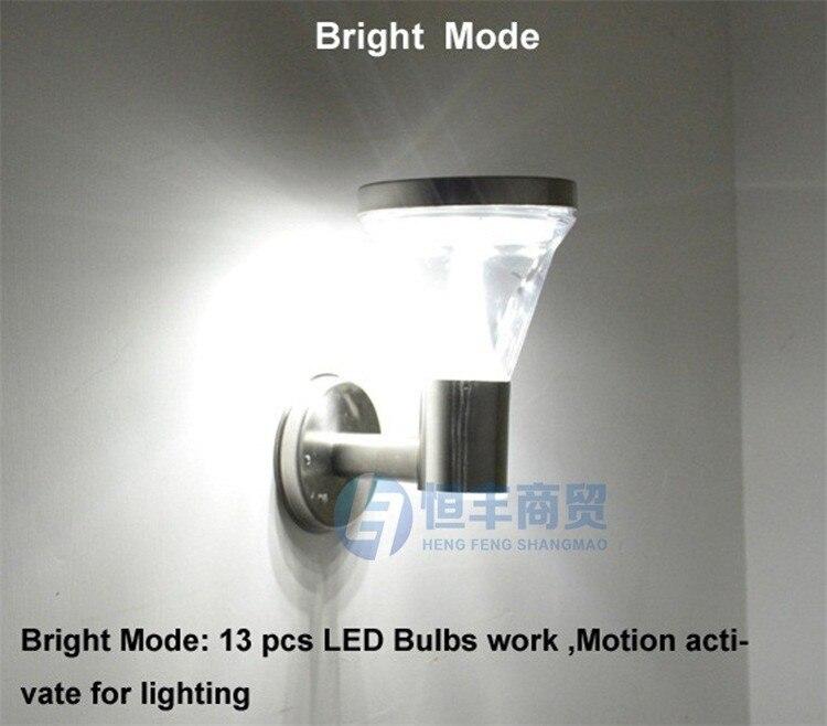 Luz De Pir LED Solar Panel Powered Human Body Infrared Motion sensor lamps Hyundai Solaris Emergency Wall Pathway Street lights