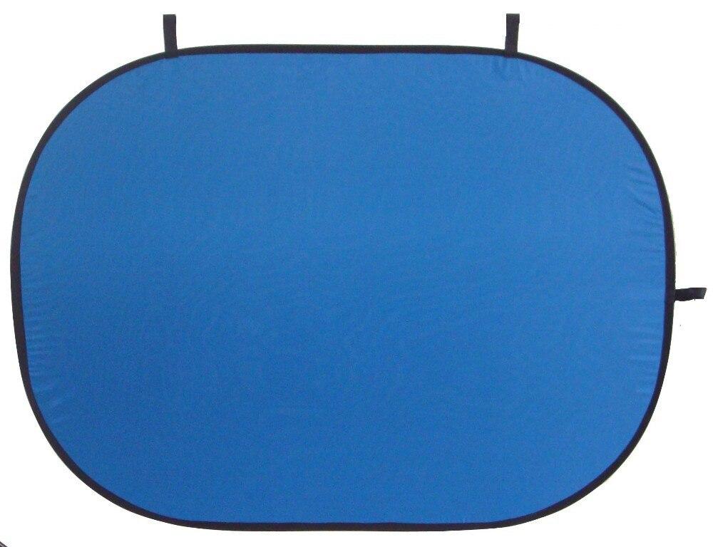 100% katoen 1.5x2 m 2in1 fotografie studio portable outdoor green blue chromakey achtergrond opvouwbare achtergrond met draagtas-in Accessoires voor fotostudio's van Consumentenelektronica op  Groep 1