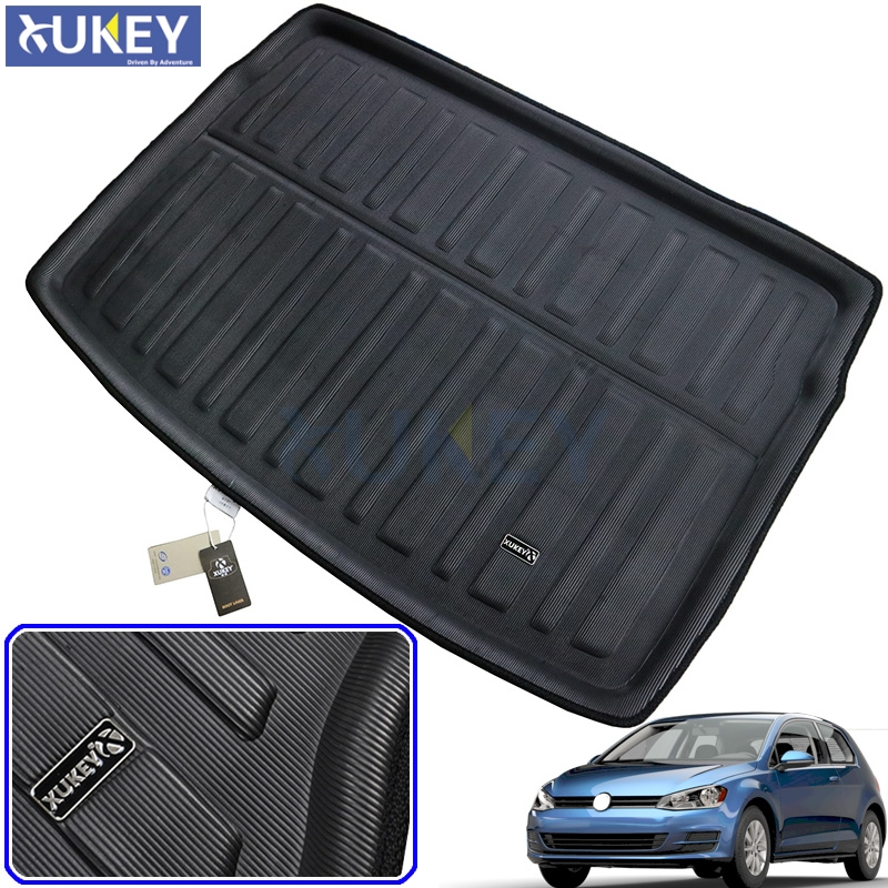 Floor Mats Reasonable Rubber Car Heavy Duty Universal Waterproof Boot Liner Rear Car Back Seat Protector Mats Fit For Volkswagen Vw Cc 2009-2018