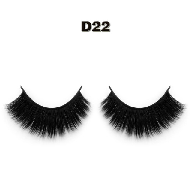 15d83ac0c51 Woman Makeup 3d Silk strip Naturally Handmade False Eyelash extension Sexy  Thick Stage Makeup Smoked Big