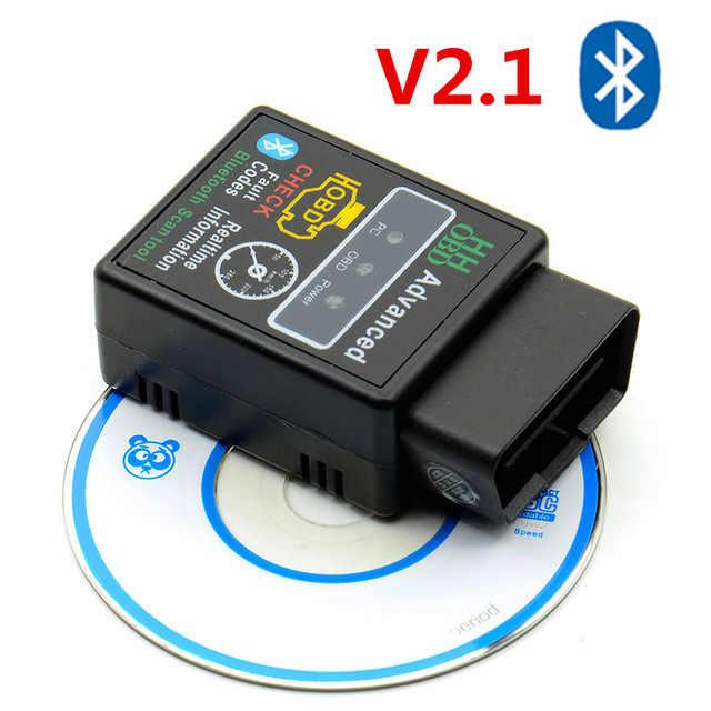 Adaptador para Carro OBD2 Elm327 Cabos Carro De Diagnóstico OBD Do Carro-Ferramenta Ferramenta de Scanner para benz para bmw para ECU vag carros