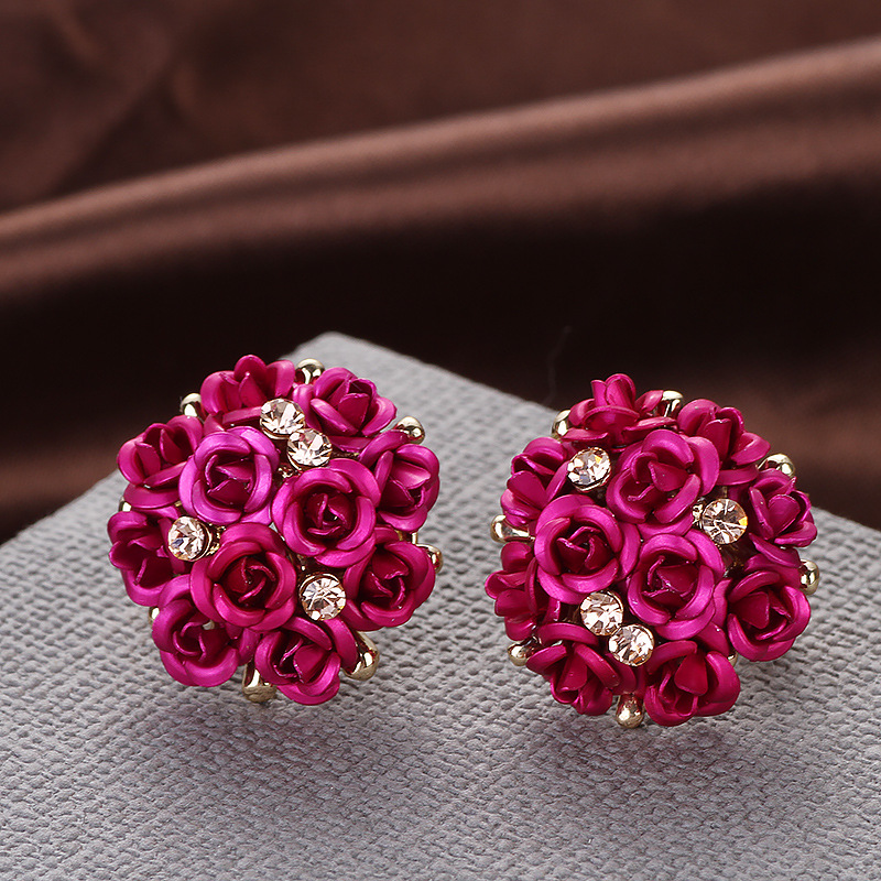 women in accessories ear for new flower big display item jewelry com stand from on aliexpress earrings with pair rose stud