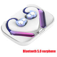 bluetooth headphones wieless earphone sport mini bluetooth headsets earbuds active noise cancelling headphone with microphone