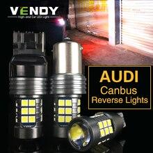 1 шт. Автомобильный светодиодный Фары заднего хода Canbus лампа W16W T15 P21W BA15S W21W для Audi A4 b8 A3 8p 8l A6 Q5 A1 A5 80 TT Q3 R8 B6 A5 S5 S6