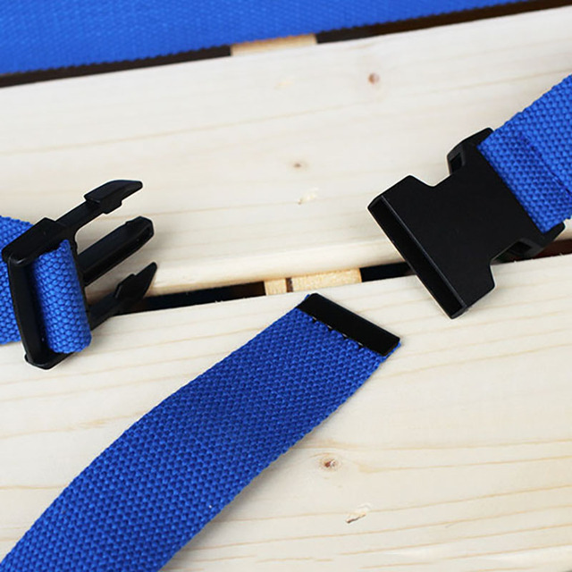 Black Canvas Belt for Women Casual Female Waist Belts with Plastic Buckle