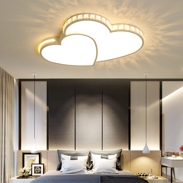 US $91.5 25% OFF OPKMB Modern Bedroom Ceiling Lamp Decorative Crystal LED  Ceiling Light With Remote Controller Kids Room Ceiling Lamp -in Ceiling ...