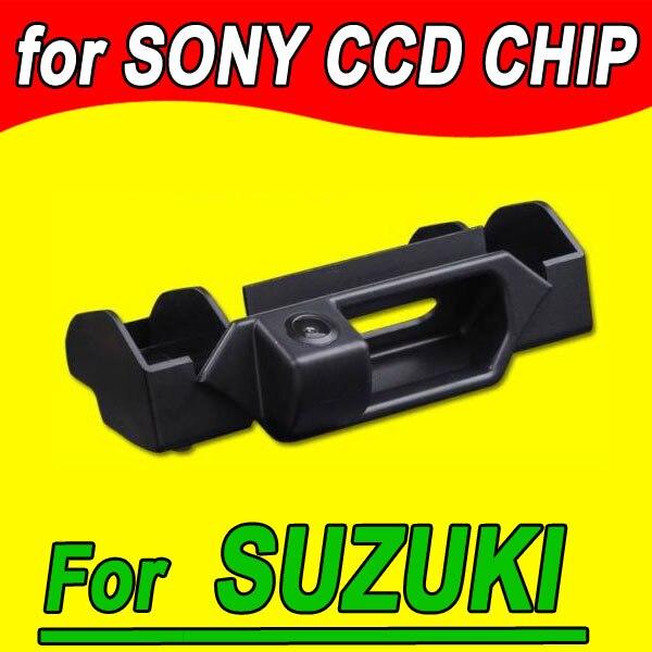 imágenes para Leva de la cámara de visión trasera para estacionarse en reversa de copia de seguridad del coche para Suzuki SX4 hatchback NTSC PAL (opcional) HD a prueba de agua