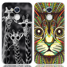 Drop Shipping TPU Soft Phone Case for Huawei Honor 6A 5-inch Fashion Pattern Colorful Painted