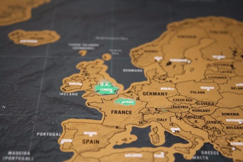 Scratch Off World Map 7