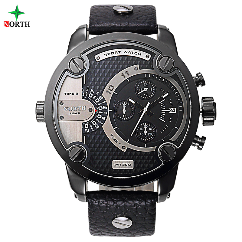 Male Sport Wristwatch Luxury Brand Fashion Men Clock 30M Water Resistant Stainless Steel 2017 Men Sport
