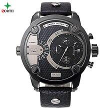 Masculino Reloj Deportivo De Lujo Marca Moda Hombres Reloj 30 M Resistente Al Agua de Acero Inoxidable 2017 Hombres Reloj Deportivo con Alta calidad