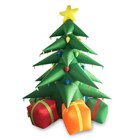Outdoor Inflatable Christmas Tree Inflatable Christmas Decoration For Sale