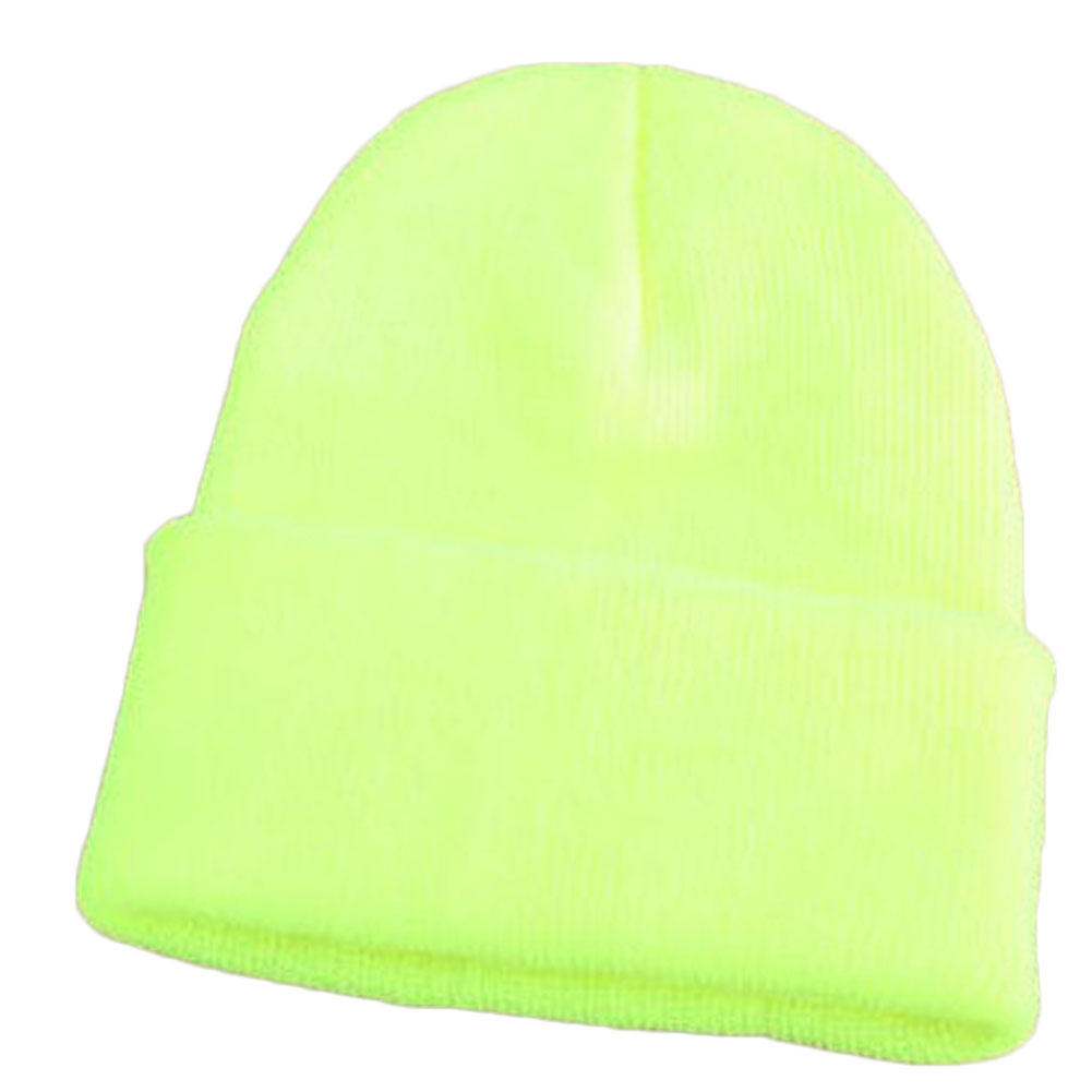 10 Colors Unisex Fluorescent Beanies Autumn And Winter Warm Women Men Hip-hop Wool Hat Couples knitted cap pointed hats 2016 limited gorro gorros brand new women s cotton hip hop ring warm beanie cap winter autumn knitted hats beanies free shipping