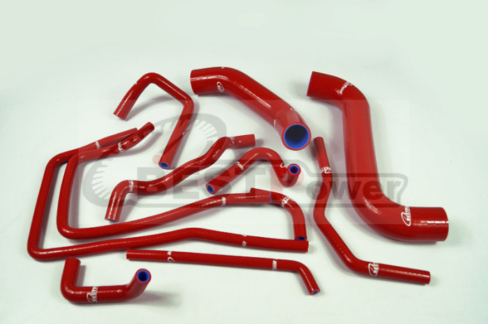 Silicone Radiator coolant Hose kit for SUBARU Impreza WRX GDA/GGA STi GDB/GGB EJ20 Ver 7 -9 RED aluminium intercooler hard pipe piping hose kit for wrx impreza gda gdb 00 05 blue