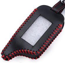 Leather Key Case for Starline B9 B9 / B91 / B6 / B61 / A91 / A61 / V7 C9 LCD Shape Of High Quality R