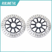 Pair Front Brake Discs Rotors For TZR 250 FZR 750 R YZF 750 R SP FZR