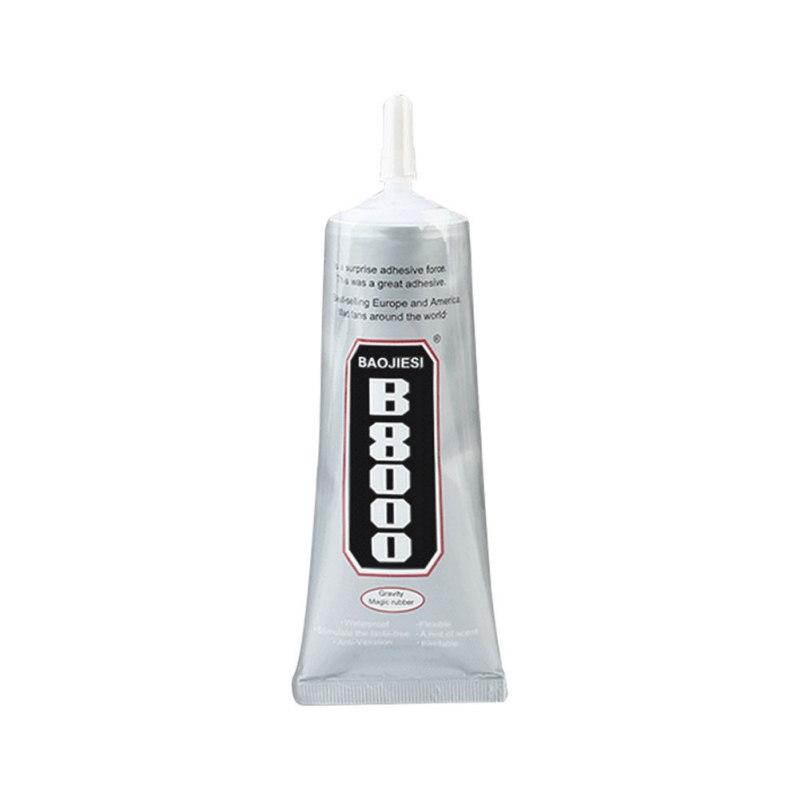 Universal Glue <font><b>B8000</b></font> Glue 60ml Adhesive Metal Glue Tire Repair Tools image