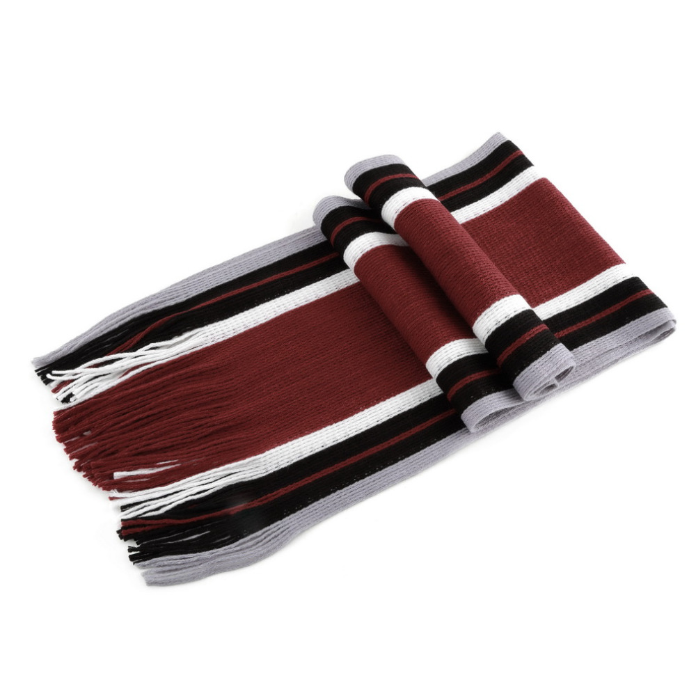 Mens Striped Faux Cashmere s Scarf With Tassels Fashion All-match Style Men Business Scarf Echarpe 2018 Male Scarf Apparel Accessories