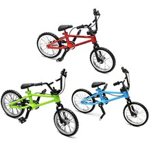Mini Finger Bmx Toys Mountain Bike BMX Bicycle Finger Toys Creative Game Suit Children Grownup Toys For Children(China)
