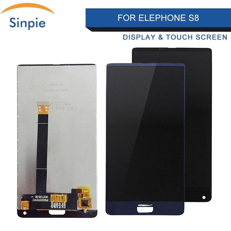 Sinpie LCD 100% Getestet Arbeits 6,0 inch LCDs Für elefon S8 Display Mit Touchscreen Digitizer Mit Tools