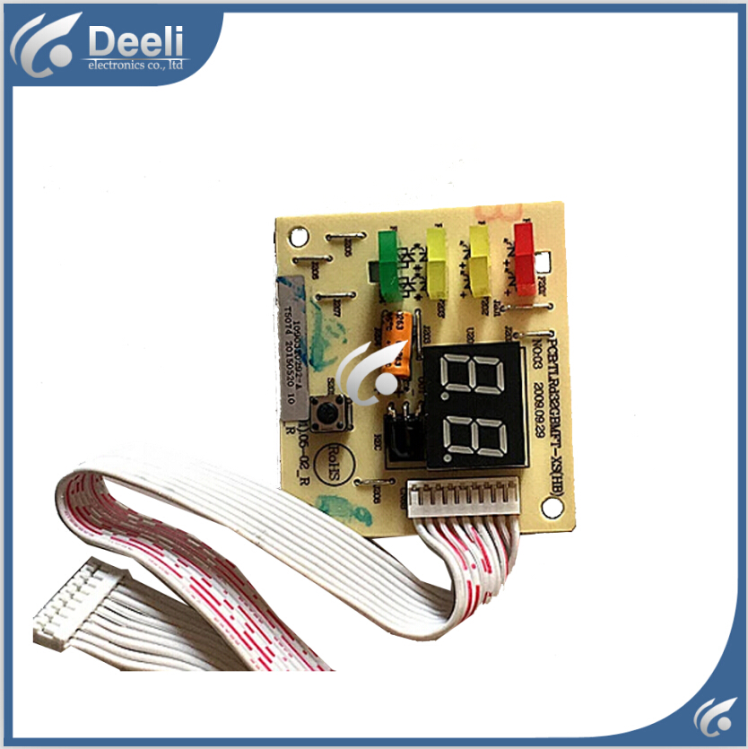 95% new good working for Air conditioning display board remote control receiver board plate Rd32GBMFT-XS 1090320292-A a pair 95% new original for buffer plate board th p55gt32c tnpa5340 tnpa5341 good board