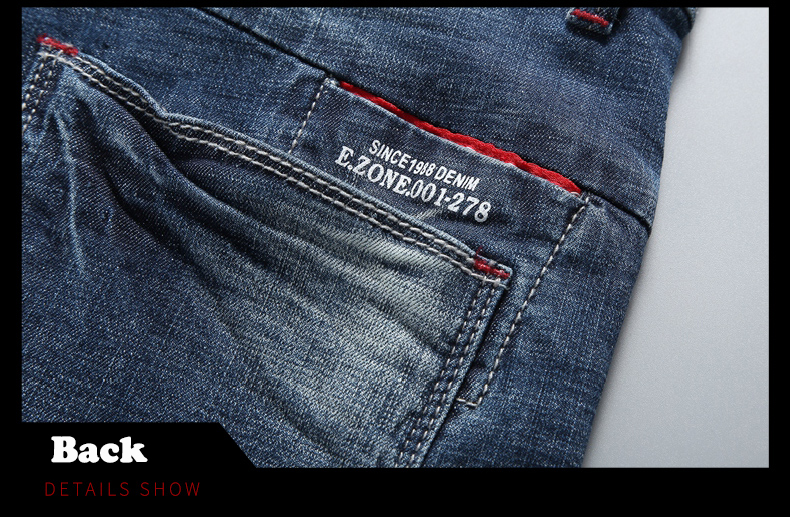 KSTUN 2020 New Arrivals Jeans Shorts for Men Regular Fit Stretch Blue Casual Pants Famous Brand Men's Clothes Male Cowboys Shorts 16
