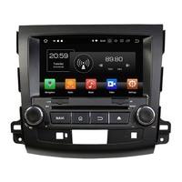 4GB RAM Android 8.0 Octa Core 2 din 8 Car DVD GPS for Mitsubishi Outlander 2006 2012 stereo Radio Bluetooth WIFI USB 32GB ROM