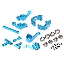 Hsp 1/10 piezas de actualización portador de aluminio eje de dirección de montaje 102010 102011 para camión redcat himoto volcán epx katana rc coche