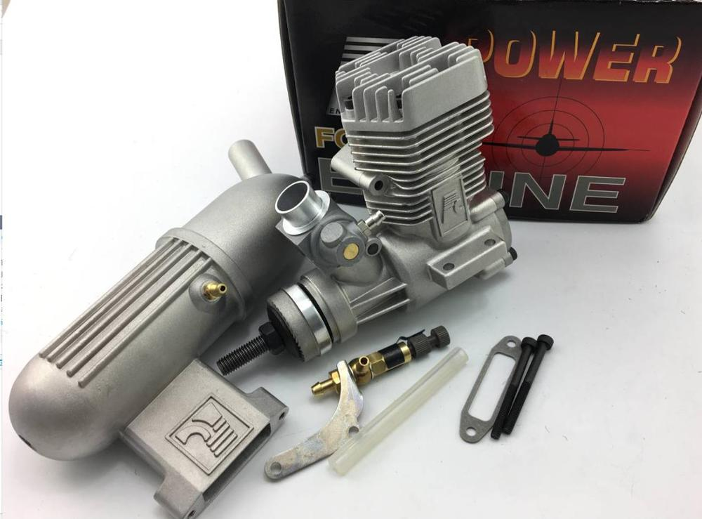 Imported FC46 46AII Nitro Engine 7.5CC (instead of ASP S46A / S46AII) for RC Model Airplane image