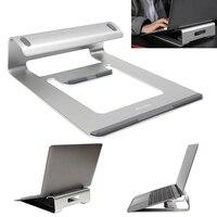 Aluminum Laptop Stand Holder Dock Desk Pad For MacBook Pro Air Tablet Notebook Portable Metal Laptop