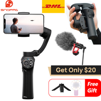 Snoppa Atom 3 Axis Handheld Gimbal Smartphone phone Stabilizer for iPhone X Gopro 6 7 PK Smooth 4 DJI OSMO Mobile 2 osmo pocket