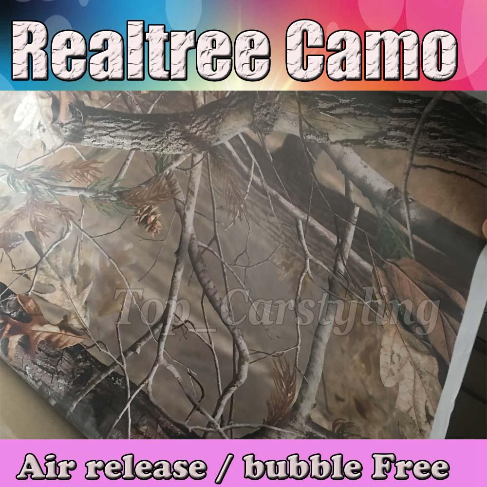 Realtree camo vinyl sticker foile wrap sheet Camouflage Film Car Decals 3M Avery Arlon Vinyl (1)