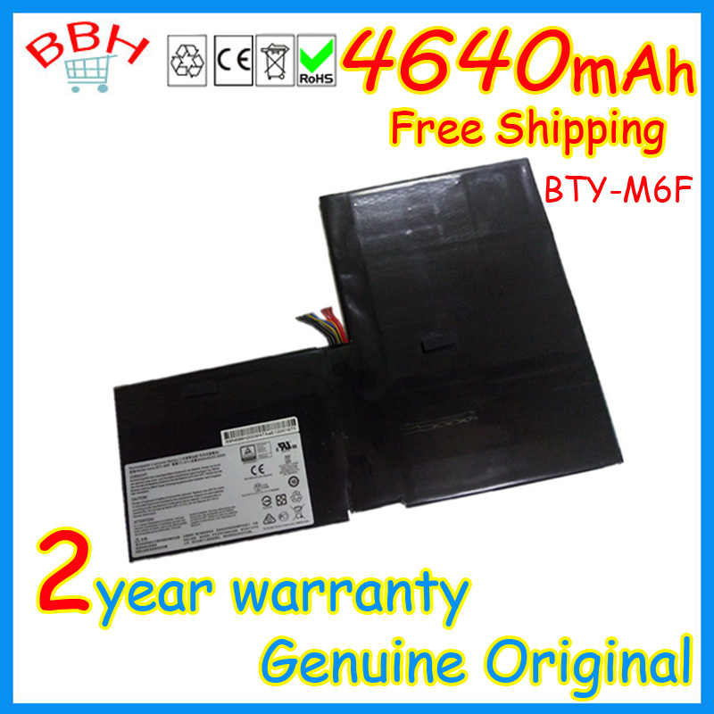 ФОТО 100% Genuine original BTY-M6F battery for MSI GS60 2PL 2QE 6QE 6QC MS-16H2 series batteria batteries