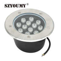 SZYOUMY 20PCS Free Shipping 12W LED Underground Lamp LED Outdoor Lighting DC 12V OR AC85~265V IP67 160*H90mm