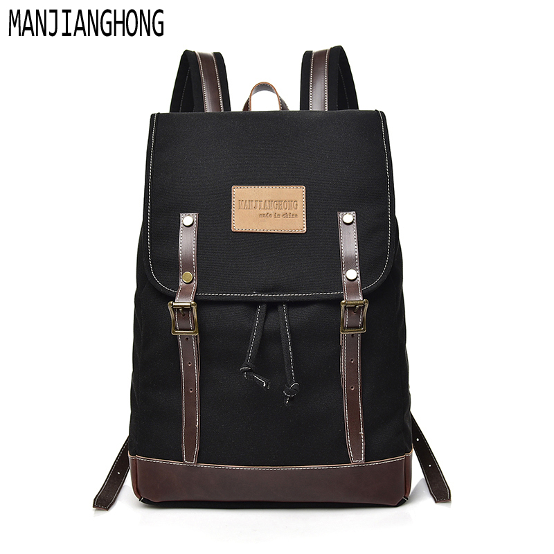 2018 New fashion Men Women backpack vintage canvas school bag men's Casual travel bags large capacity travel backpack bag men s casual bags vintage canvas school backpack male designer military shoulder travel bag large capacity laptop backpack h002