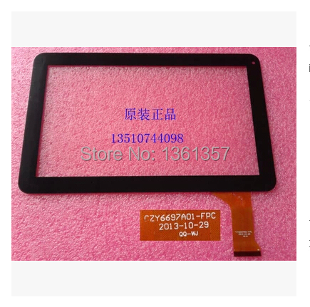 10.1-дюймовый планшет емкостный сенсорный экран czy6697a01-fpc бесплатная доставка