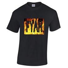 Tee S-2Xl  Christmas Men Slim Fi Fyah Reggae Jungle Ragga Dancehall Streetwear Ston Slogan Shirt цена