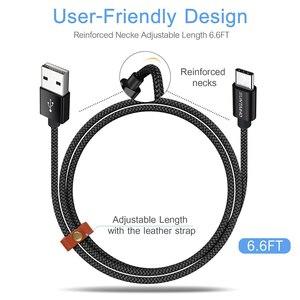 Image 3 - Suntaiho USB Tipo C Cavo 3A Veloce di Ricarica di Tipo C Cavo USB Per Samsung S10 S9 S8 Nota 9 8 Huawei Xiao mi mi mi 9 USB C dati CAVO
